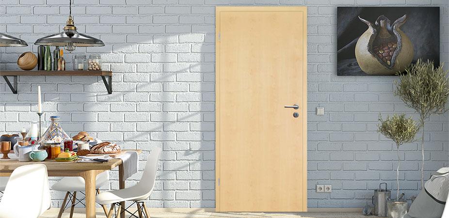 Zimmertüren in CPL Ahorn
