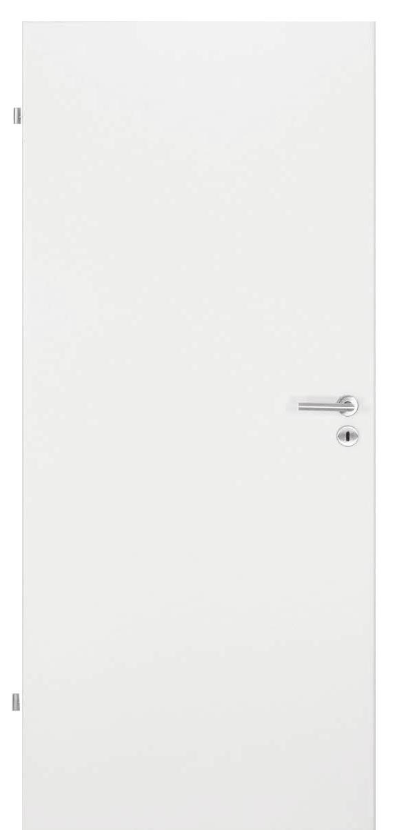 Zimmertür Weißlack 9010
