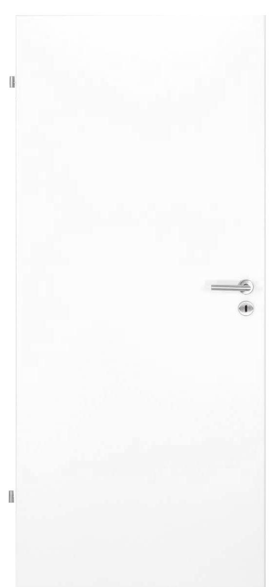 Zimmertür Weißlack 9016