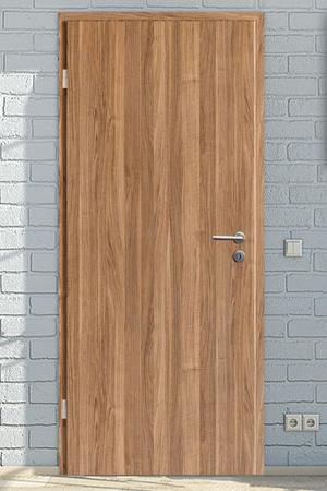 Zimmertüren in CPL Nussbaum