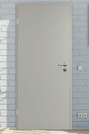 Zimmertüren in CPL Grau