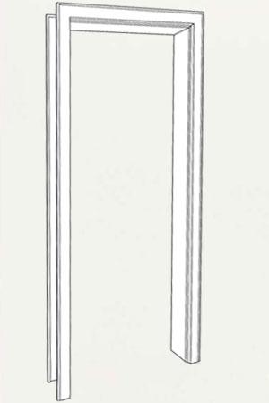 Zarge CPL Weiss 9010