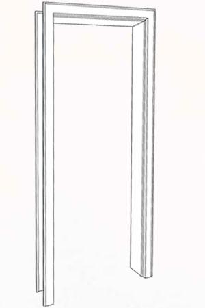 Zarge CPL Weiss 9016