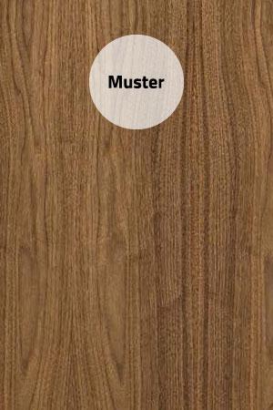 Muster Furnier Nussbaum