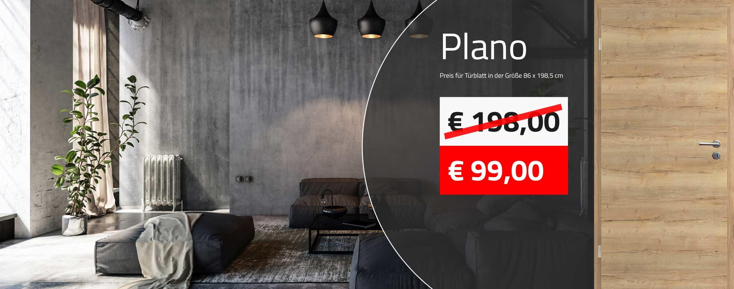 Innentüren kaufen - glatte CPL Zimmertüren ab 99,00 € kaufen
